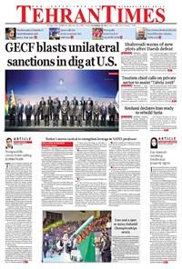 Tehran Times - Mon November ۲۷, ۲۰۱۷
