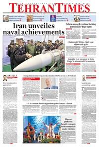 Tehran Times - Thu November ۳۰, ۲۰۱۷
