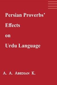 Persian proverbs' effects on Urdu language