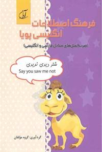 فرهنگ اصطلاحات انگلیسی پویا